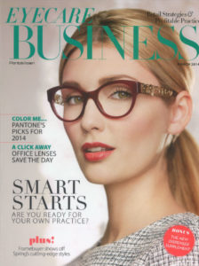 eyecare, business, magazine, eye care business magazine, fysh uk, colour, frames, color, primary, color as a reason people buy, reason, primary, column, editorial, coverage, press, media, march 2014, eyewear, glasses, frames, westgroupe, fysh uk, fysh,