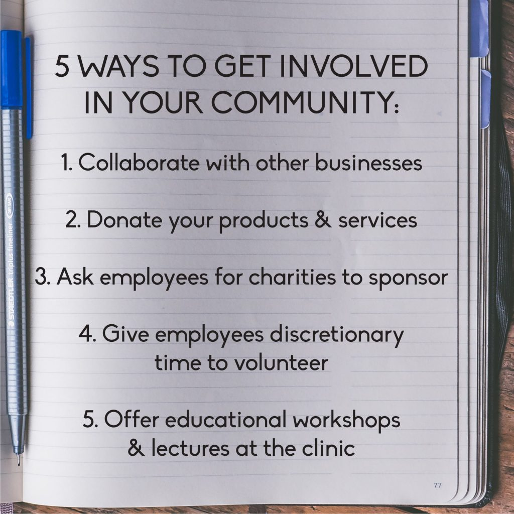 5 WAYS TO GET INVOLVED IN YOUR COMMUNITY